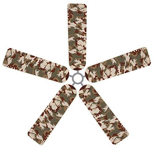 Fan Blade Designs SK-D78K-GOF7 Ceiling Fan Blade Covers, ...