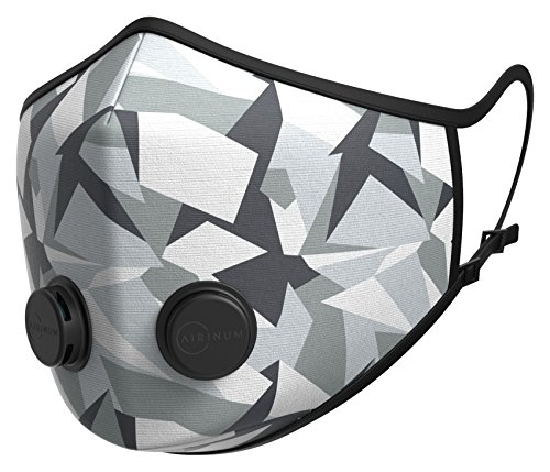 Airinum Urban Air Mask 1.0 Limited – Reusable & Adjustable Air Mask that Protects against Air Pollution, Smog, Allergens and Bacteria – M90 Winter M by Airinum (Image #3)