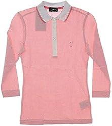 0f600a6e Golfino New Womens The Bubble 3/4 Sleeve Golf Polo XX-Small XXS Pink