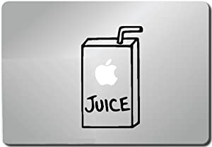 Apple Juice Computer Skin Apple Sticker Laptop Sticker Macbook Decal Computer Sticker Macbook 13 Inch Vinyl Decal Sticker Skin Cover Computer Sticker Computer Decal Decal Mac Decal for Mac Laptop Sticker Laptop Decal Newest Version Macbook Pro Laptop Quotes