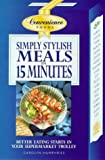 Simply Stylish, Meals In Fifteen Minutes, Carolyn Humphries, 0572024681