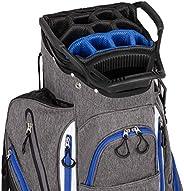Founders Club Franklin Golf Push Cart Bag -Riding Cart Bag -Full Bag Rain Cover -Secure Push Cart Base -Light
