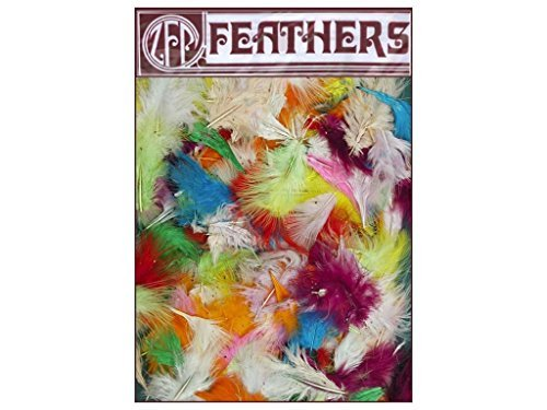 - Loose Turkey Marabou Mix Dyed - Assorted Mix ()