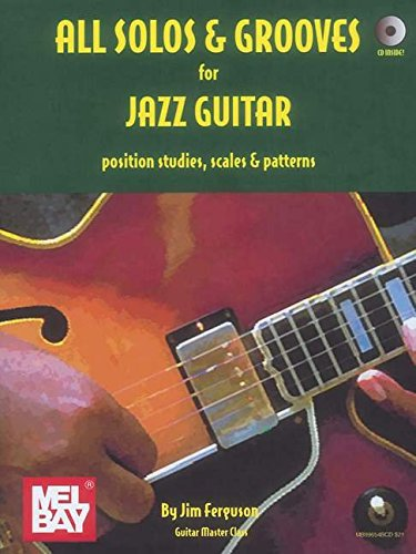 All Solos and Grooves for Jazz Guitar (Book/CD Set)