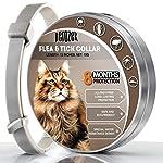 LOVATIC Cats Flea and Tick Collar - 8-Month Flea Treatment Cat Collar - Hyp..