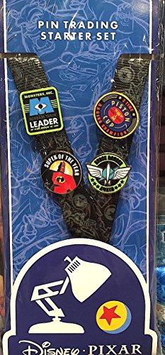 Disney Parks Pixar Pin Trading Trader Starter Set NEW
