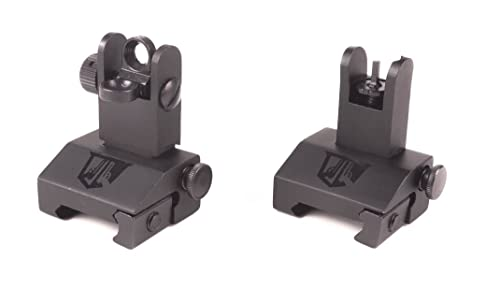 Flip Up Backup Battle Sights by Ozark Armament