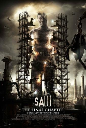 Saw 3D Movie Poster #01 Final Chapter 24