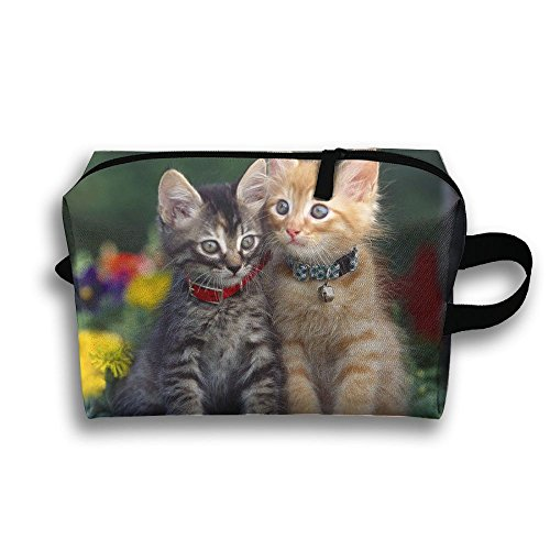 Couple Of Kittens Wash Bag, Yeiotsy Small Travel Toiletry Bag Super Light Toiletry Organizer For Overnight Trip by Pengyong