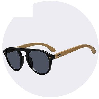 BA Sunglasses Gafas de sol de madera de bambú para hombre y ...