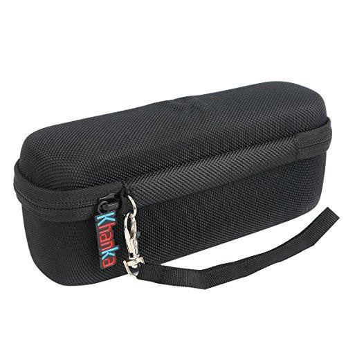 Khanka Hard Case Travel Bag for SoundBot SB571 Bluetooth Wireless Speaker - Black