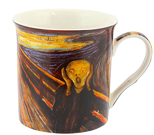"Edvard Munch ""The Scream"" Classic Art Fine China Coffee Mug by Haysom Interiors"