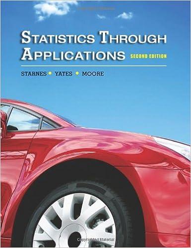 Statistics Through Applications 9781429219747