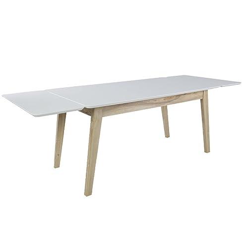 tisch esstisch kopenhagen esszimmertisch dinnertisch b 160 240 cm erweiterbar - Erweiterbare Esstische