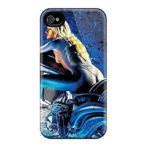 New IncAeGg6907WxSBT Mototcycle Tpu Cover Case For Iphone 4/4s