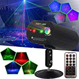 Party Lights DJ Disco Lights, Sound Activated and Remote Control 36 Led Patterns Projector Effects Stage Strobe Lights for Party Birthday Wedding Karaoke KTV Bar Christmas Halloween Decorations