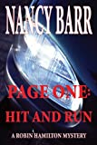 Page One: Hit and Run by Nancy Barr front cover