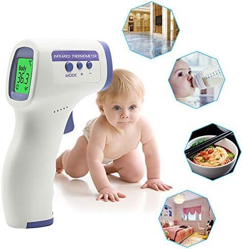 Baby or Kids White Premium Term/ómetro for Adults Yunzyun Forehead Term/ómetro Digital Body Temporal Term/ómetro Non Contact Infrared Term/ómetro with Instant Readings