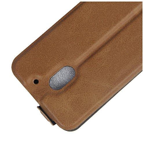 Funda MOTO E3,Manyip Caja del teléfono del cuero,Protector de Pantalla de Slim Case Estilo Billetera con Ranuras para Tarjetas, Soporte Plegable, Cierre Magnético D