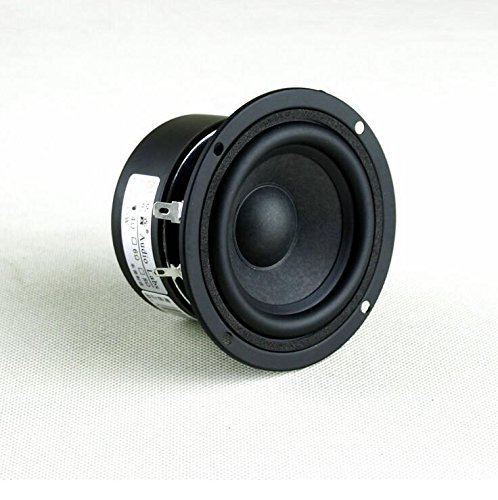 15w Woofer - BELONG 2pcs 3 inch 4 ohm 15W Full Range Speaker Subwoofer Tweeter HiFi Loudspeaker Box DIY