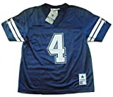 Dak Prescott Dallas Cowboys #4 Men's Big & Tall Mesh Player Jersey Navy