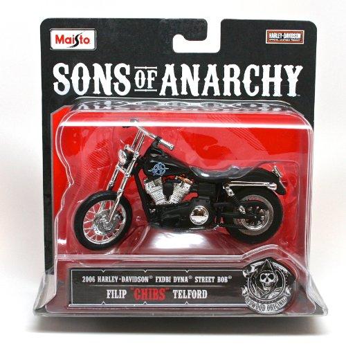 Sons Of Anarchy Filip  Chibs  Telford 1 18 Diecast Replica Bike