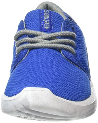 Etnies Scout Unisex-Kinder Sneaker Blau (Blue/Grey433)