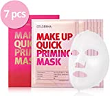 #6: Celderma Korean Facial Mask Sheet - Makeup Base and Priming Hydrogel Face Mask - 7 Masks