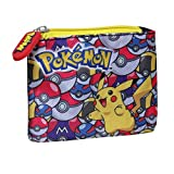 Pokemon MD-231-PK Pikachu with Pokeballs Coin Purse Pouch