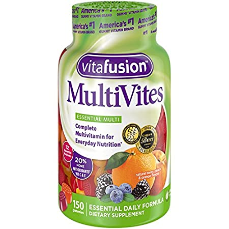 Vitafusion Multi-vite, Gummy Vitamins For Adults, 150 Count (Packaging May Vary) Church & Dwight 1102250