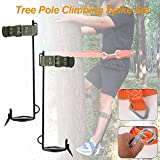 Gereton Tree Pole Climbing Spike Set with Safety