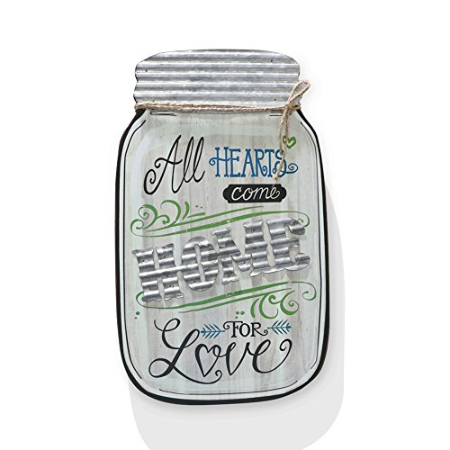 Barnyard Designs Rustic All Hearts Come Home For Love Mason