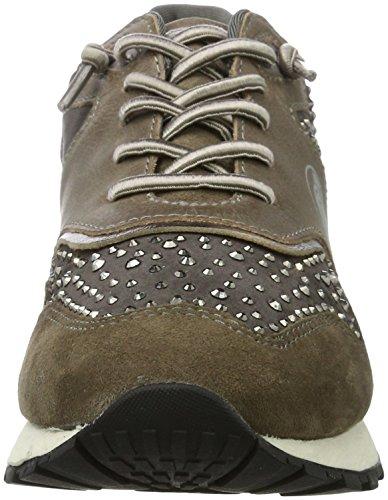 Bugatti 422285033464, Women's Slippers Grey (Grey/ Metallic)