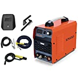 TIG Welder - SUNGOLDPOWER 200Amp TIG ARC MMA Stick IGBT DC Inverter Welder System Digital LED Display Welding Machine 110V and 220V With HF Start Complete Package