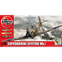 Airfix Plastic Models Kits A05126 Supermarine Spitfire MK I Plastic Model Kit (1:48th Scale)
