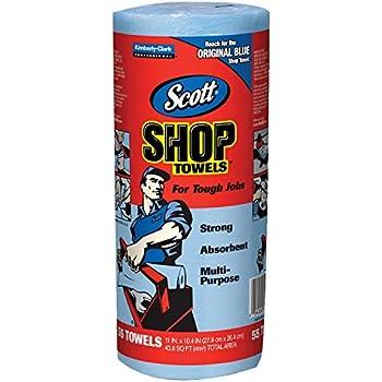 Amazon Com Scott 75130 Shop Towels 55 Towels Industrial