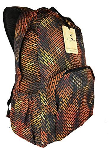 Morenjoy life Viaggio zaino 25L Packable resistente all'acqua per escursionismo in bicicletta Sport zainetto Backpac-vari colori (arancione)