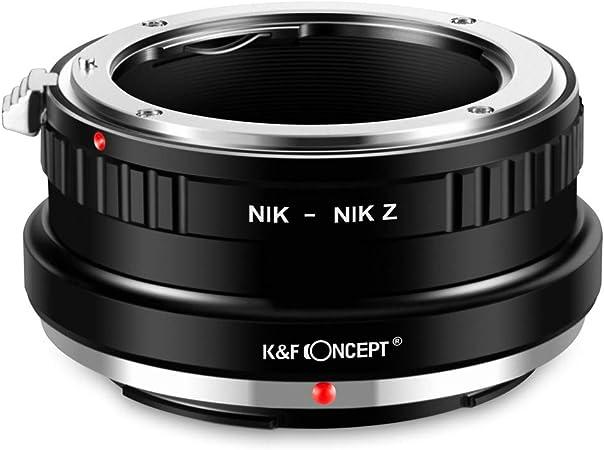 K F Concept Nik Nik Z Bajonettadapter Objektiv Ring Für Elektronik
