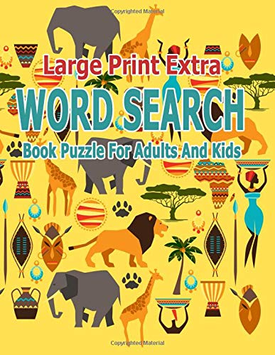 Pdf Entertainment Large Print Extra Word Search Book Puzzle For Adults And Kids: 750Words Games Brain Relieve Stress Happy Holidays