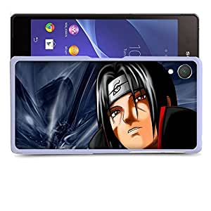 Case88 Designs Naruto Uchiha Itachi Protective Snap-on Hard Back Case Cover for Sony Xperia Z2
