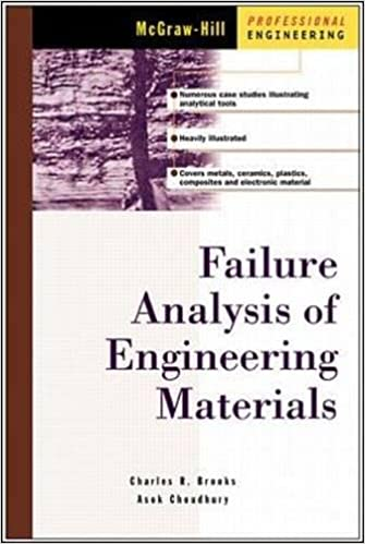 Failure analysis of engineering materials charles brooks ashok failure analysis of engineering materials charles brooks ashok choudhury charlie r brooks 9780071357586 amazon books fandeluxe Image collections