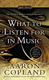img - for What to Listen for in Music (Signet Classics) book / textbook / text book