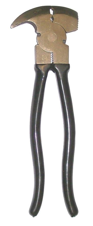 Prima herramientas pl10 F ALBAÑIL acero forjado valla alicates con pulido cabeza y mango con revestimiento