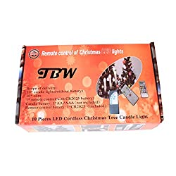 TBW Battery Powered Remote Control LED Christmas T