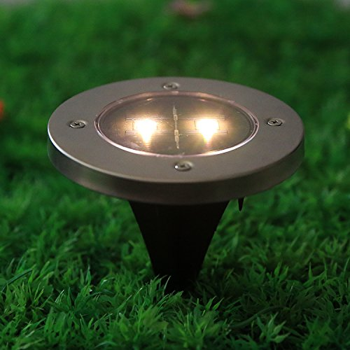 Outdoor Patio Ground Lights: Homdox Solar Powered Ground Light Outdoor Ground Light