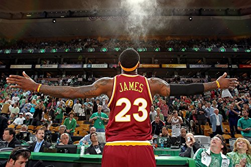 Fabric James Lebron (Lebron James Cleveland Cavaliers Basketball Limited Print Photo Poster 20x13 #3)