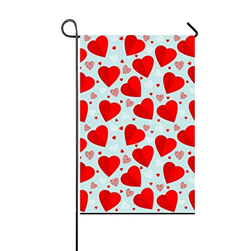 Valentines Day Pattern Garden Flag Yard Decorations Flag for