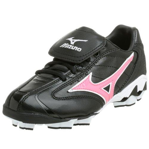 Mizuno Women's Finch Franchise G2 Cleat,Black/Pink,5 M
