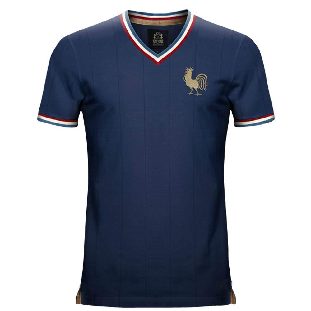 Vintage France Home Soccer Jersey