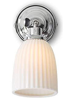 Garden Trading Pimlico Bathroom Wall Light Glass Amazoncouk